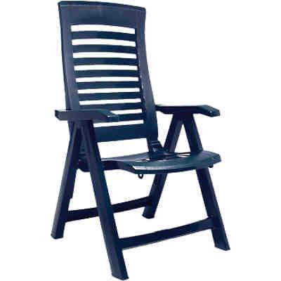 kunststoff gartenstuhl lola stapelbar blau yomonda. Black Bedroom Furniture Sets. Home Design Ideas