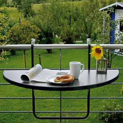 balkontisch halbrund preisvergleiche erfahrungsberichte und kauf bei nextag. Black Bedroom Furniture Sets. Home Design Ideas