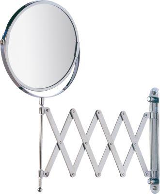 Wand Kosmetikspiegel ´´Teleskop´´ 3-fach Vergrö...