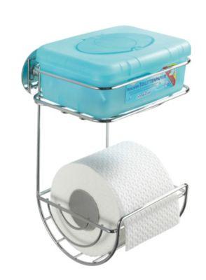 Turbo-Loc Toilettenpapierhalter mit Ablage Befestigen ohne bohren