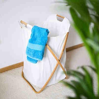 w schesammler trio beige w schekorb 130 l beige wenko. Black Bedroom Furniture Sets. Home Design Ideas