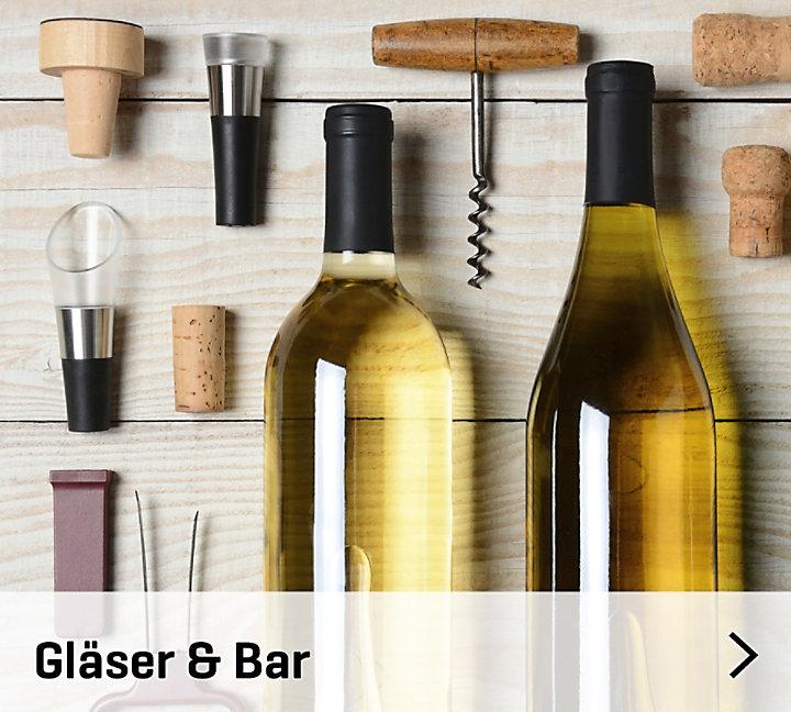 Gläser & Bar