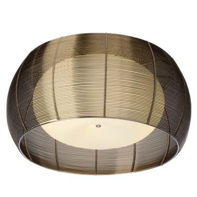 Brilliant Relax Deckenleuchte 50cm bronze/chrom