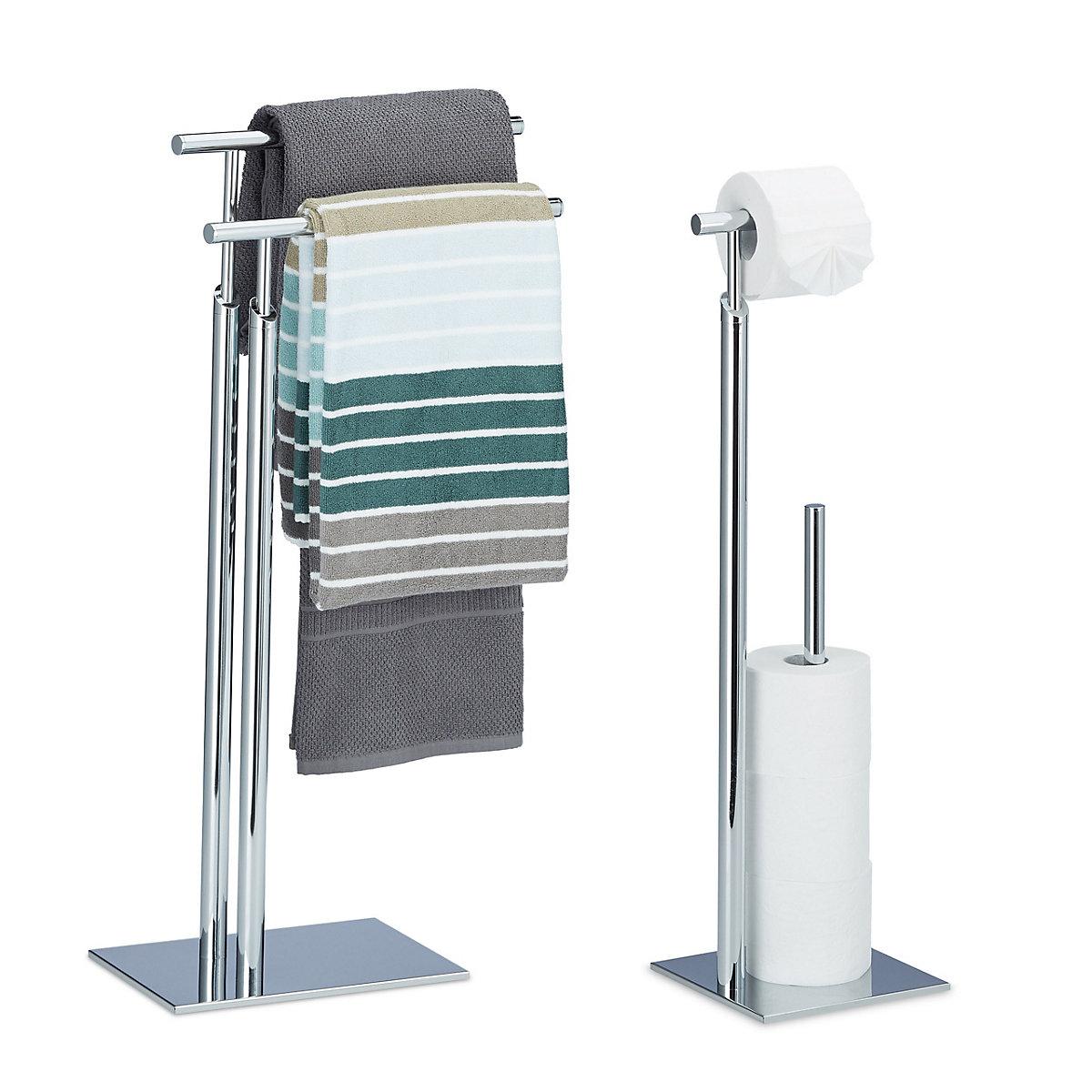 2 tlg Bad Set PAGNONI WC Garnitur Handtuchhalter