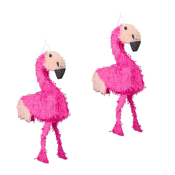 "2er-Set Pinata ""Flamingo"""