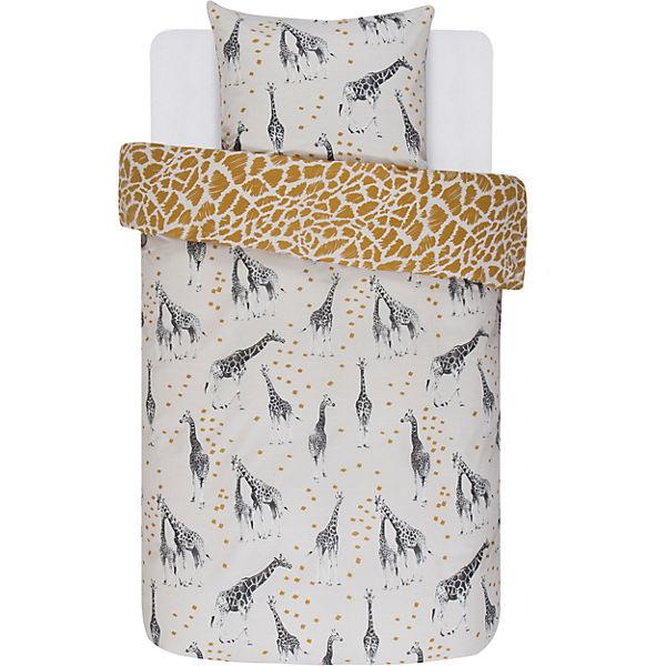 Wende Bettwäsche Giraffen Renforcé 135 X 200 Cm Beige Covers