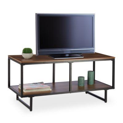 Holz & Metall TV-Board braun
