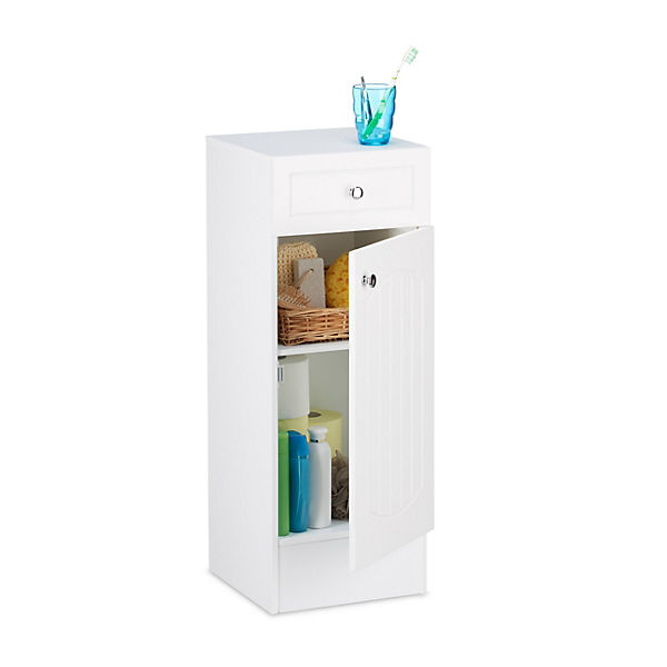 Badezimmer-Schrank 80x30x30 cm, weiß,