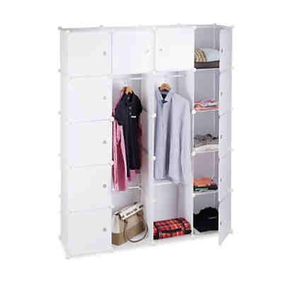 kleiderschr nke schuhschr nke g nstig online kaufen yomonda. Black Bedroom Furniture Sets. Home Design Ideas