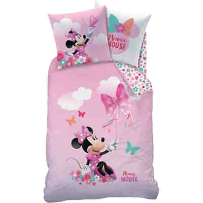 Bordüre Disney Minnie Mouse, rosa, 4,57 m x 22,86 cm, rosa, Disney Minnie  Mouse