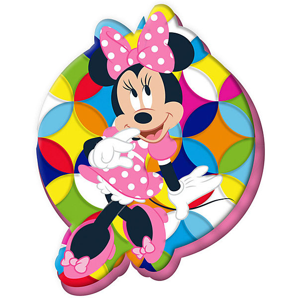 Minnie Maus Konturenkissen, 35 cm, , Disney Minnie Mouse