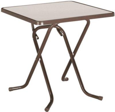 Gartentisch Primo Wetterfeste Tischplatte Klappbar Blau