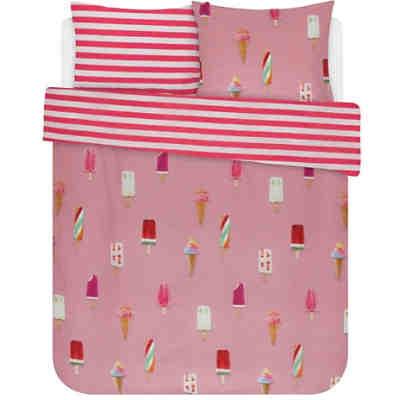 Bettwäsche Flamingo 135x20080x80 Cm Weiß Good Morning Bedlinens