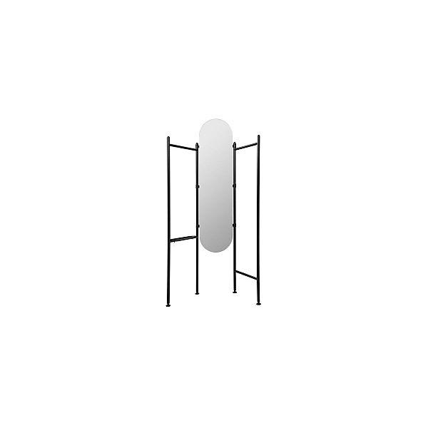 Standspiegel Kleiderstander Vala 180 X 119 11 Cm Schwarz Umbra