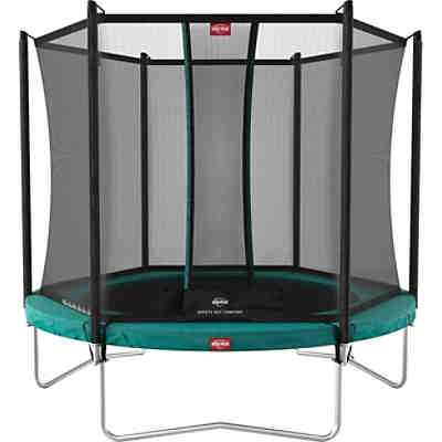 Trampolin Favorit Green 330 + Sicherheitsnetz Comfort