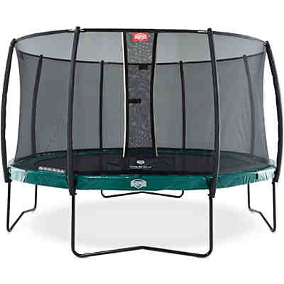 Trampolin Elite Green 430 + Sicherheitsnetz Deluxe