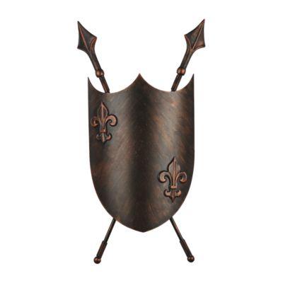 FAVOURITE Wandleuchte Schild mit magischem Kleeblatt Deckenleuchten braun