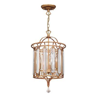 FAVOURITE Hängeleuchte Royalty mit geschliffenen Kristallelementen Deckenleuchten gold