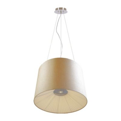 FAVOURITE Pendelleuchte Cupola mit Stoff-Lampenschirm Deckenleuchten beige