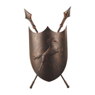 FAVOURITE Wandleuchte Schild mit mittelalterlichem Charme Deckenleuchten bronze