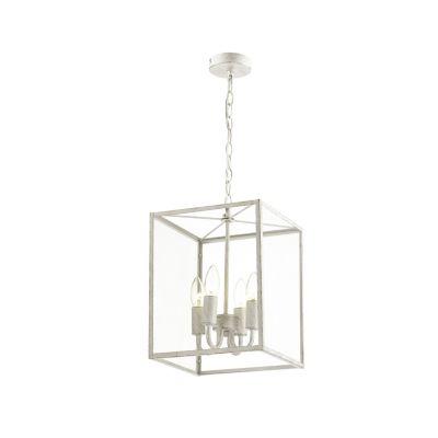 FAVOURITE Hängeleuchte Dius mit eleganten Kerzenhaltern Deckenleuchten silber