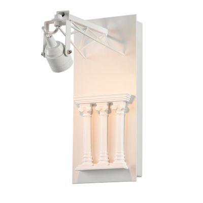 FAVOURITE Wandleuchte Exposition im Loft-Stil Deckenleuchten weiß