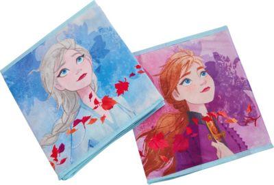 WORLDS APART Aufbewahrungsbox Frozen 2, 4er Set | Dekoration > Aufbewahrung und Ordnung > Korbwaren | Worlds Apart