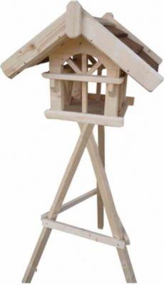Siena Garden Vogelhaus mit Ständer natur | Garten > Tiermöbel > Vogelhäuser-Vogelbäder | Siena Garden