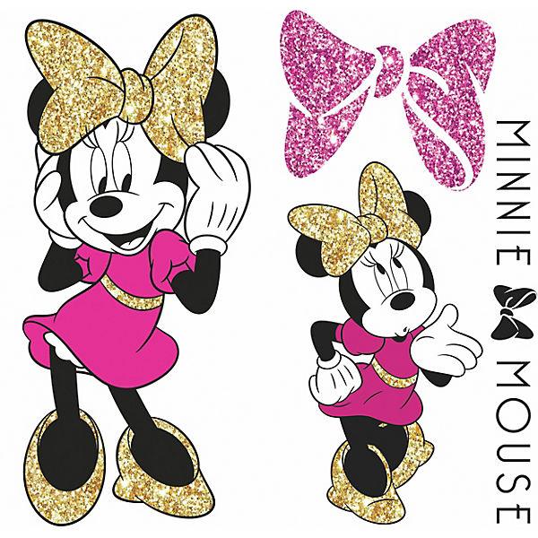 Wandsticker Disney Minnie Mouse Glitter, , Disney Minnie Mouse