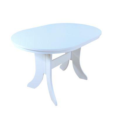 Esstisch, Breite 120-160 cm Antie weiß