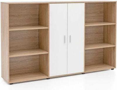 Sideboard, B184 x T35 x H111,5 cm natur