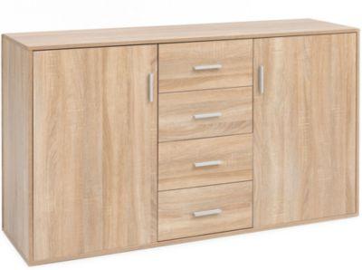 Sideboard, B138 x T40 x H82,5 cm natur