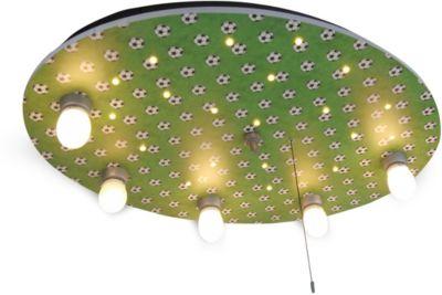 NIERMANN Deckenleuchte Fußbälle grün