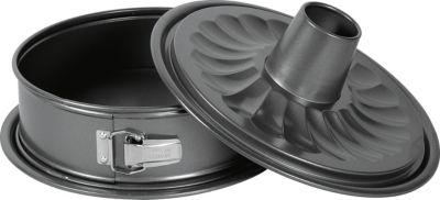 Birkmann Springform Easy Baking, mit Rohr- und Flachboden, 28 cm anthrazit   Küche und Esszimmer > Kochen und Backen > Backformen   Birkmann