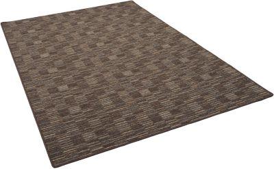 Snapstyle Streifenberber Teppich Modern Stripes braun Gr. 80 x 240 | Heimtextilien > Teppiche > Berberteppiche | Snapstyle