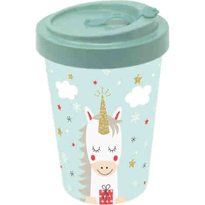 "Bambus Coffee to go Travel Mug ""Einhorn"""