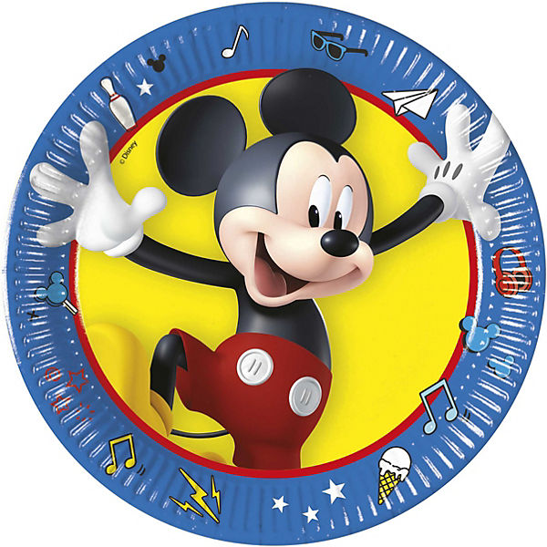 Mickey 8 Pappteller 20 cm Design Mickey Pals at Play