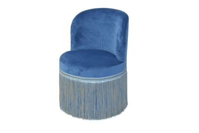 Polstersessel Sandy blau