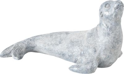 BOLTZE Dekofigur Randell L49 x B29 x H28 cm grau | Dekoration > Figuren und Skulpturen > Figuren | BOLTZE