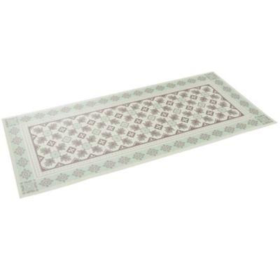Pergamon Vinyl Teppich Küchenläufer Evora Fliesenoptik mint Gr. 50 x 140   Garten > Bodenbeläge-Garten   Pergamon