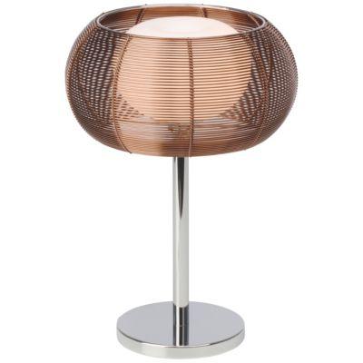 Brilliant Relax Tischleuchte bronze/chrom