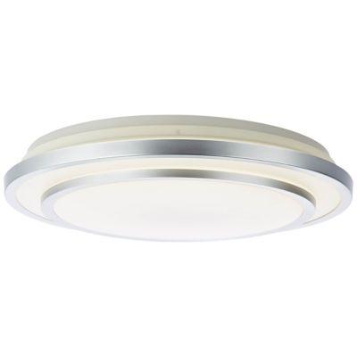 Brilliant Vilma LED Deckenleuchte 52cm weiß-silber silber/weiß
