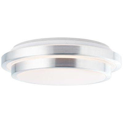 Brilliant Vilma LED Deckenleuchte 41cm weiß-silber silber/weiß