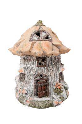 HTI-Line Gartendeko Fairytale Häuschen Deko