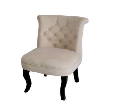HTI-Line Französischer Sessel Antoinette beige