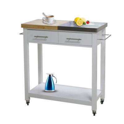 HTI-Line Küchenwagen L Blanca weiß