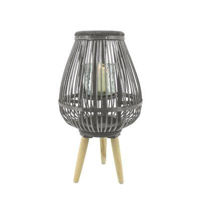 HTI-Living Windlicht S Rattan natur | Dekoration > Kerzen und Kerzenständer > Windlichter | HTI-Living