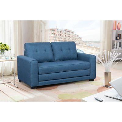 HTI-Line Schlafsofa Azaria blau Gr. 150