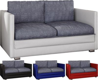 2er Schlafsofa Sofabett Couch Sofa mit Schlaffunktion