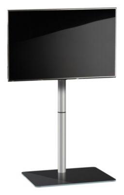 VCM TV-Standfuß LED Ständer Fernseh Standfuss Alu Glas Universal Alani Universell VESA schwarz   Wohnzimmer > TV-HiFi-Möbel > Ständer & Standfüße   VCM